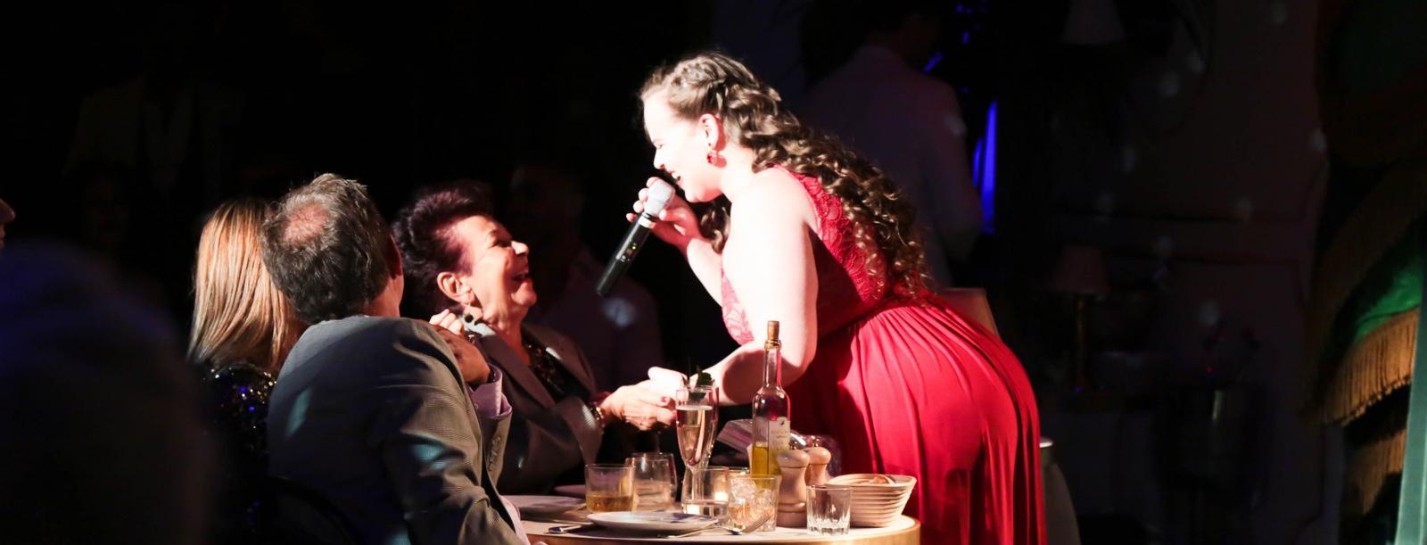 best latin clubs in miami, tucan club, dinner show miami, yoli mayor